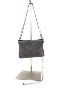Ari Belt Bag Silver Gunmetal