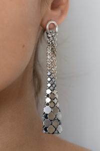 Eiffel Earrings Silver