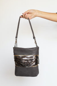Ellie Pleats Bag