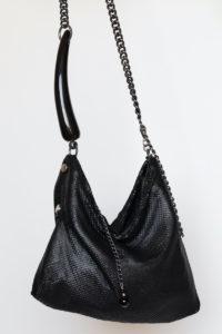 Fara Pleated Bag Black