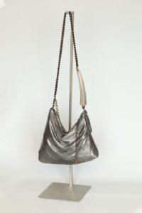 Fara Pleated Bag-doré