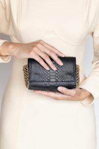 Irina Black python-gold