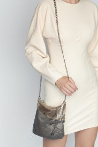Isidora Pleated Party Bag