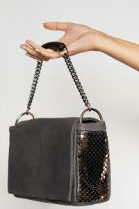 Maily Box Bag Grey-Gunmetal