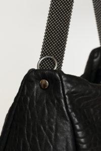 Paula Shoulder bagBlack-Gunmetal