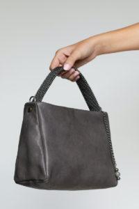 Paulina Handbag Grey-Gunmetal