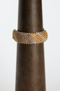 Sareen Bracelet gold-grey clear