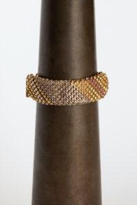 Sareen Bracelet gold-grey pink