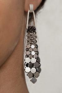 Sofia Earrings silver