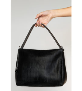 Paula Pyramid Shoulder Bag