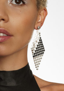 B&W Kyte Earrings