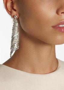 She Triangle Earrings