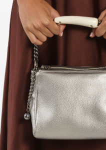 Silver Star Leather Bauletto