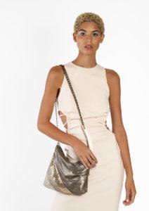 Lei Pleated Bag
