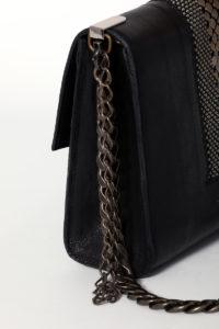Isabel Flap Shoulder bag Black-doré