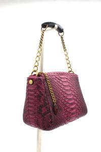Morgana Bauletto Handbag Magenta
