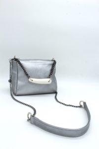 Silver Star Bauletto Handbag SilverSilver Star Bauletto Handbag Silver
